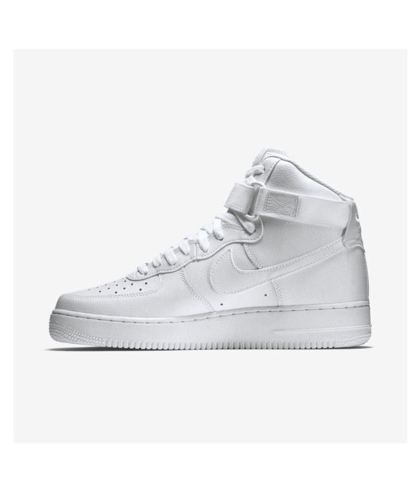 6bfe804f8fa Nike Airforce 1 high Sneakers White Casual Shoes - Buy Nike Airforce 1 high  Sneakers White Casual Shoes Online at Best Prices in India on Snapdeal