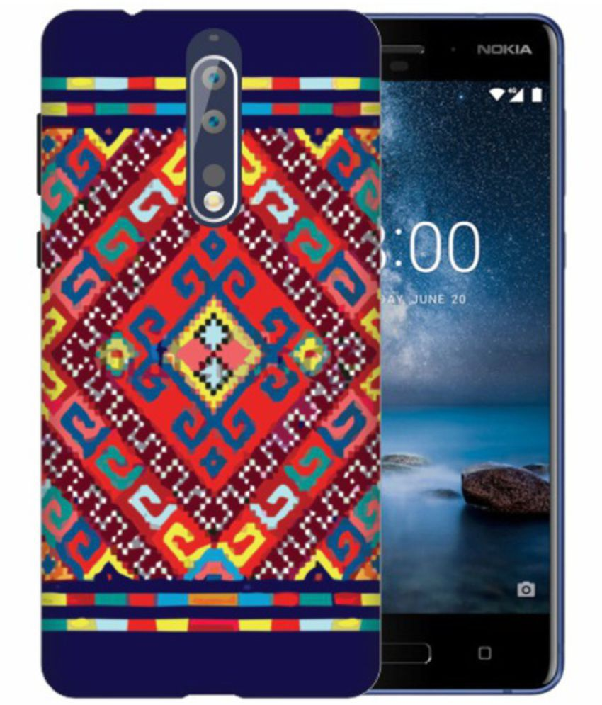 Nokia 8 3D Back Covers By Printland
