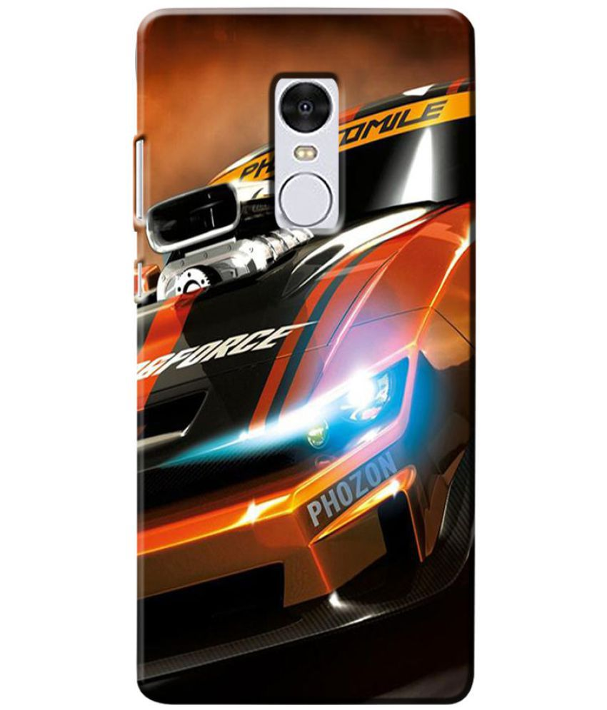 Xiaomi Redmi Note 4 Printed Cover By Case King