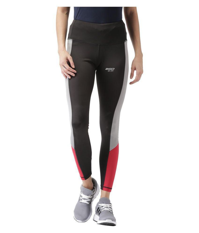 2go Polyester Tights - Black