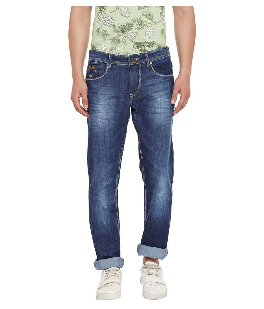 Canary London Blue Straight Jeans