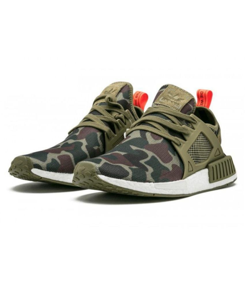 "d11cd5bc8 Adidas NMD XR1 ""Duck Camo"" Olive Running Shoes - Buy Adidas NMD XR1 ""Duck  Camo"" Olive Running Shoes Online at Best Prices in India on Snapdeal"