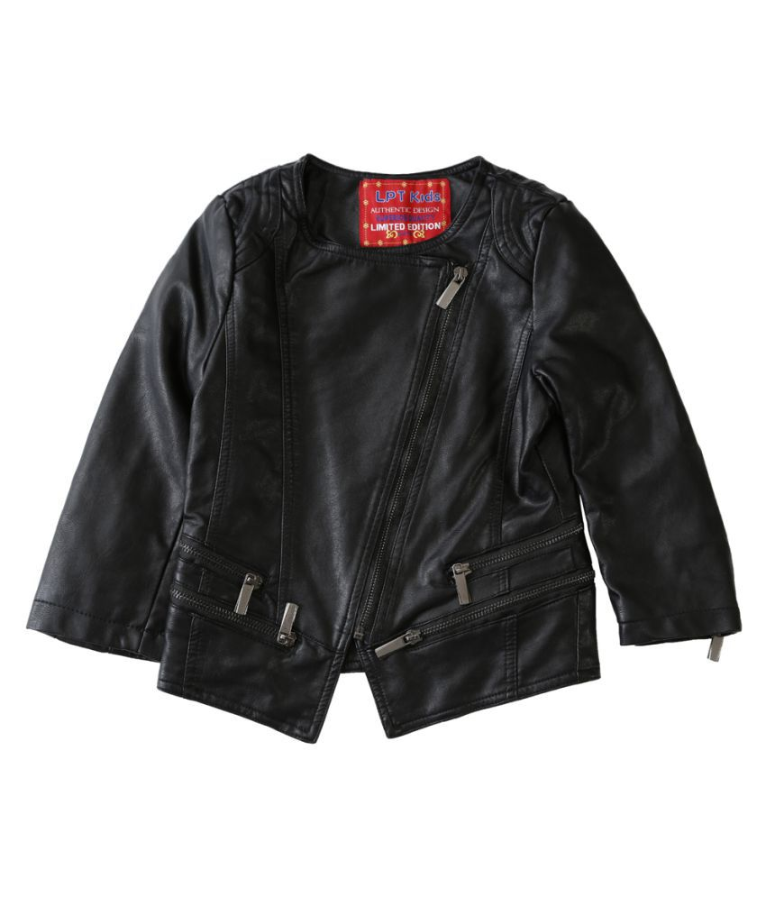 Lilliput Black  Kids  Jacket