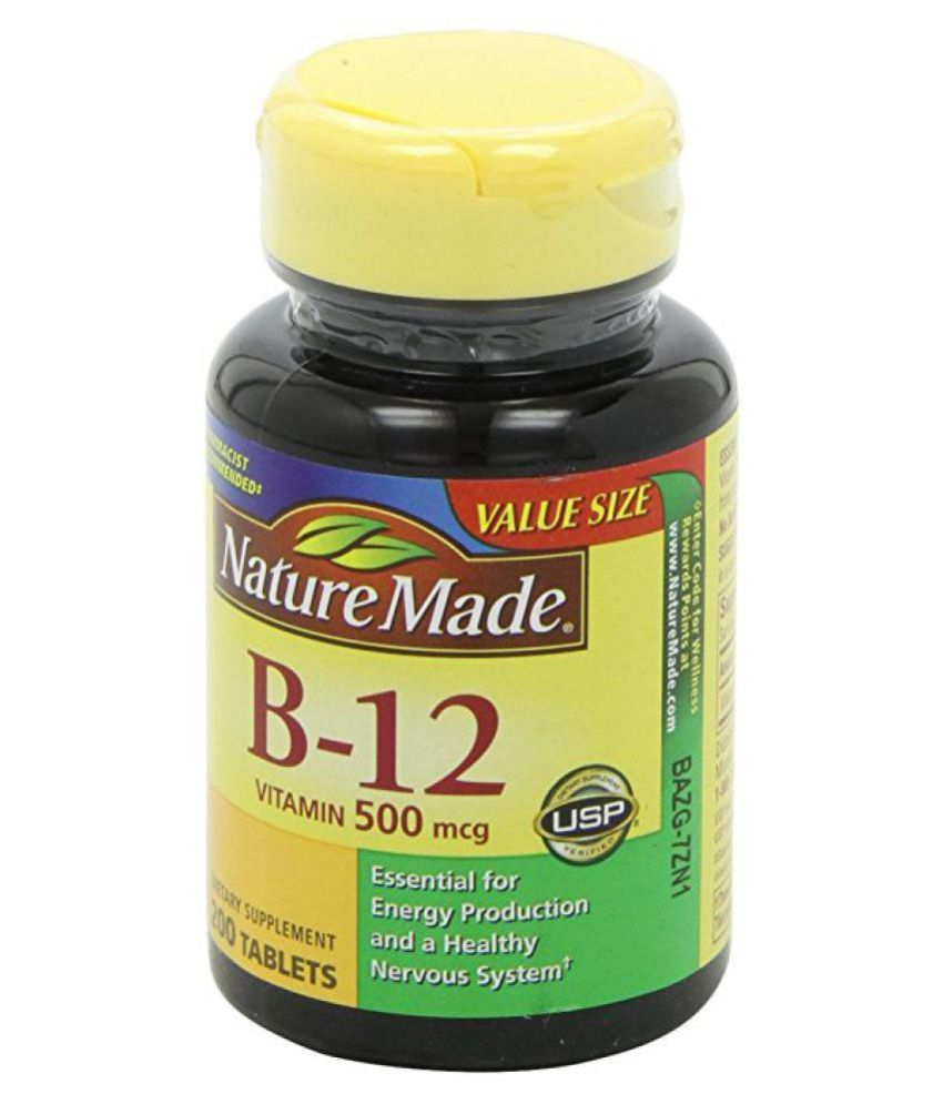 3a7fc8b4e81 Nature Made Vitamin B-12 500 Mcg Tablets 1 gm  Buy Nature Made Vitamin B-12  500 Mcg Tablets 1 gm at Best Prices in India - Snapdeal