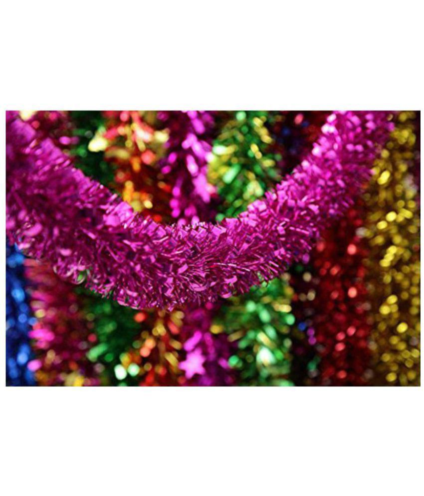Unique Arts & Interiors PVC Multicolour Christmas Tree Decoration-(Pack of 5)-33% OFF