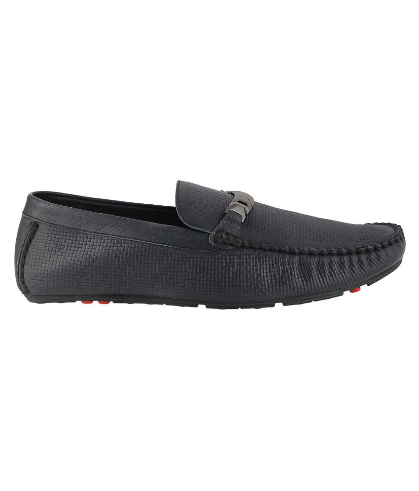 a6d238970a3 J Fontini NAVY Loafers - Buy J Fontini NAVY Loafers Online at Best ...