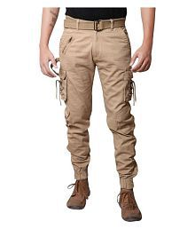 Verticals SOLID DORI CARGO FOR MEN and BOYS(Joggers style)