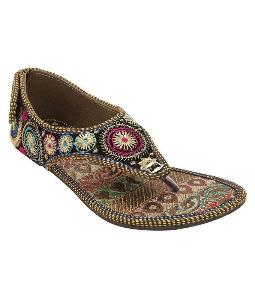 RAJSAHI Multi Color Ethnic Footwear