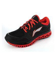 Li Ning Cushion Black Running Shoes