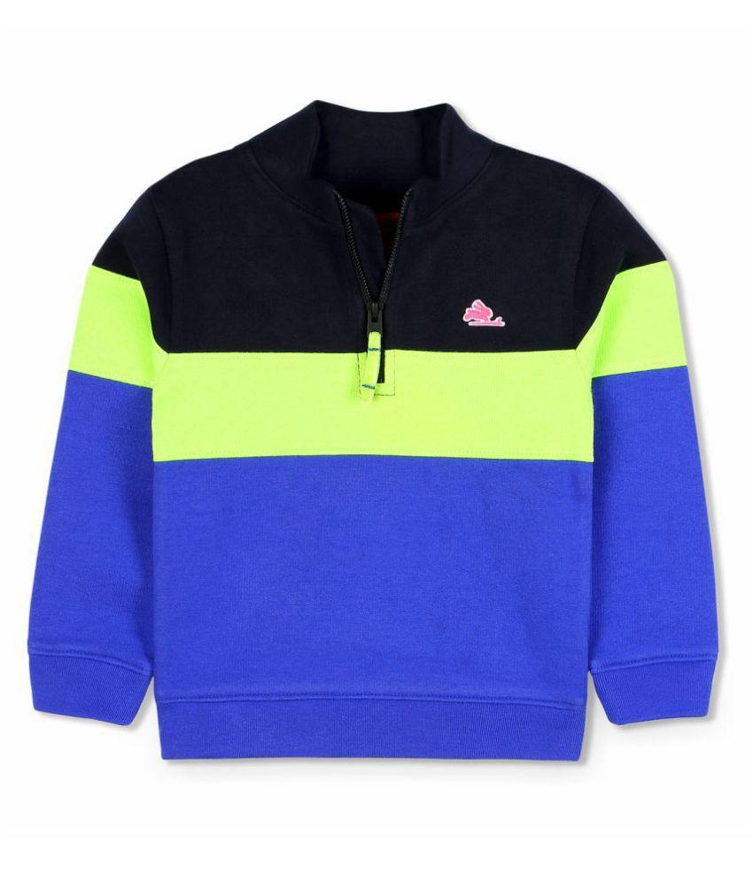 Cherry Crumble Sporty Half-Zip Sweatshirt