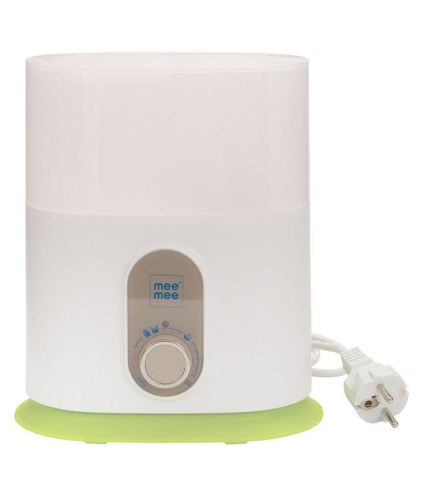 Mee Mee Compact 3 In 1 Steam Sterilizer & Bottle Warmer