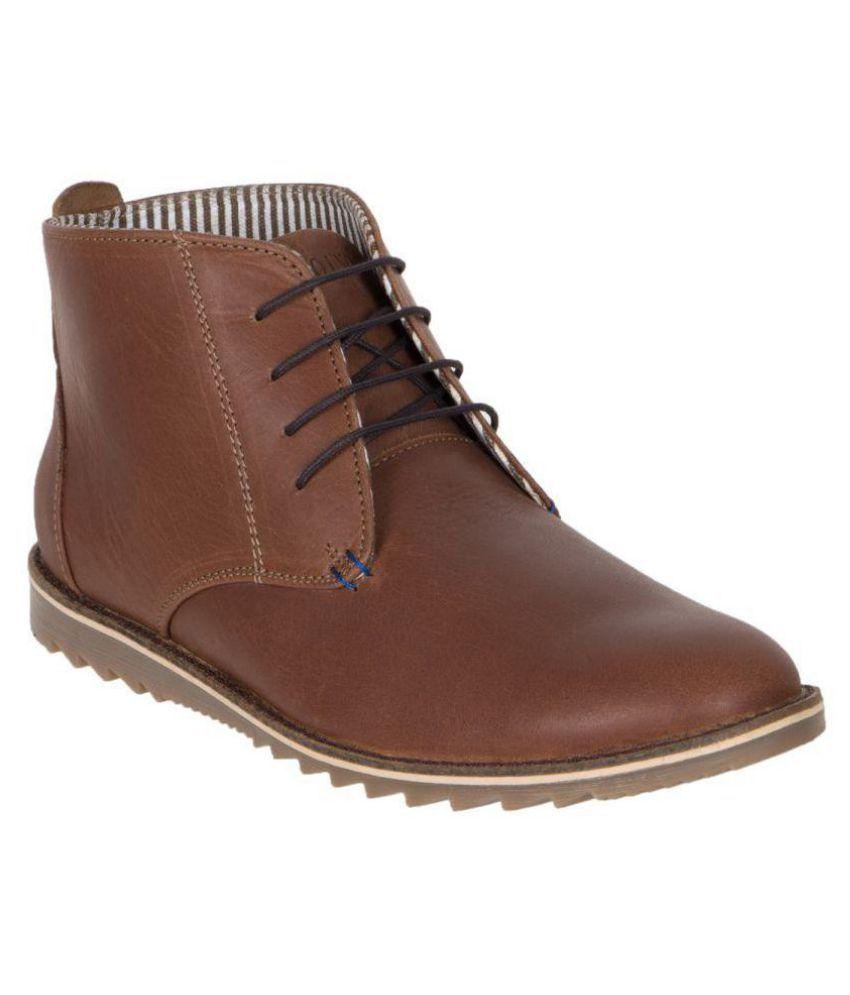 Numero Uno Brown Casual Boot