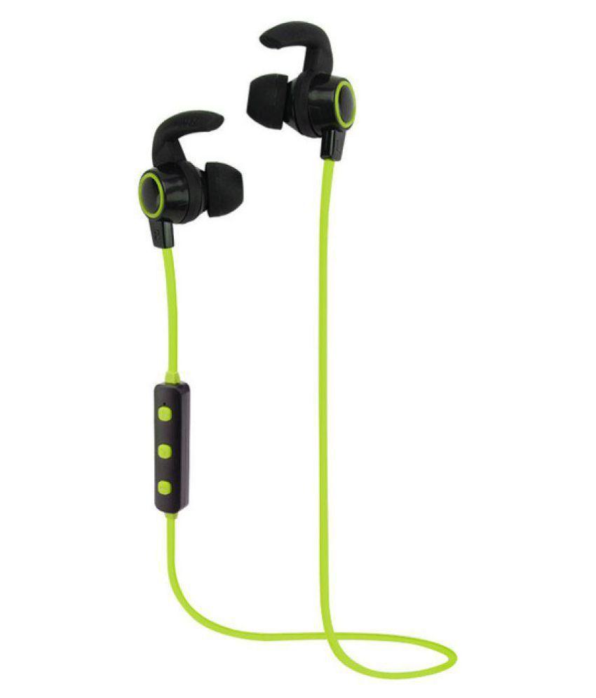 Opta BH004-Green-OPTA In Ear Wireless Earphones With Mic