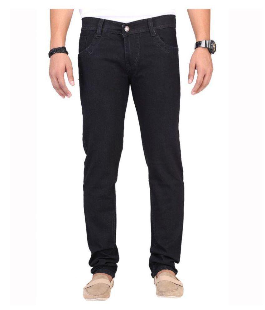 RADHE ENTERPRISES Black Slim Jeans