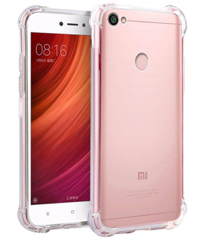 best service 85cf1 4967d Xiaomi Redmi Y1 Lite Plain Cases Noise - Transparent
