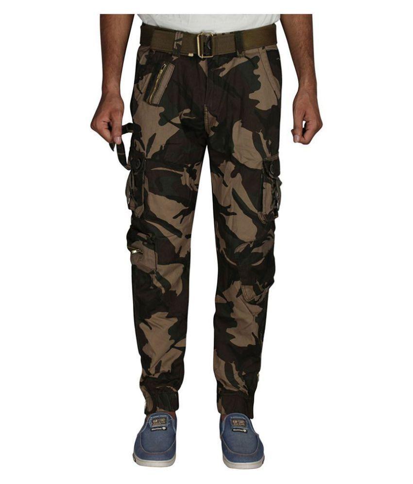 Dori style military cargo pants for men