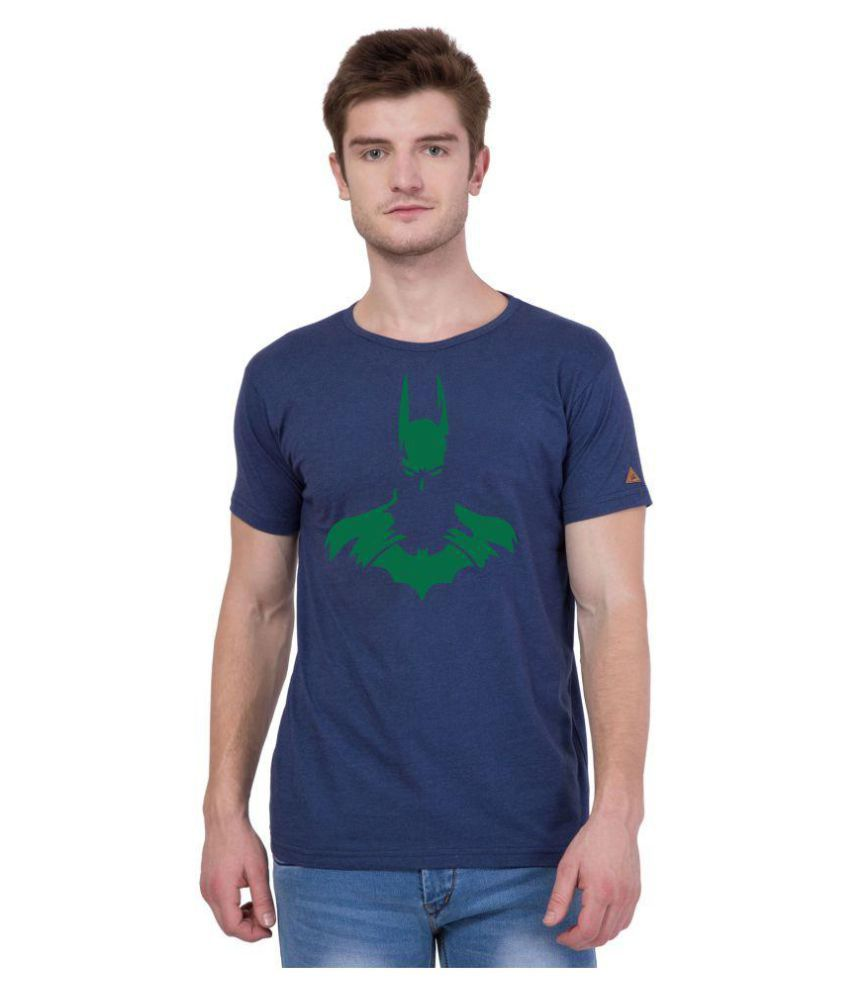 American-Elm Navy Round T-Shirt Pack of 1