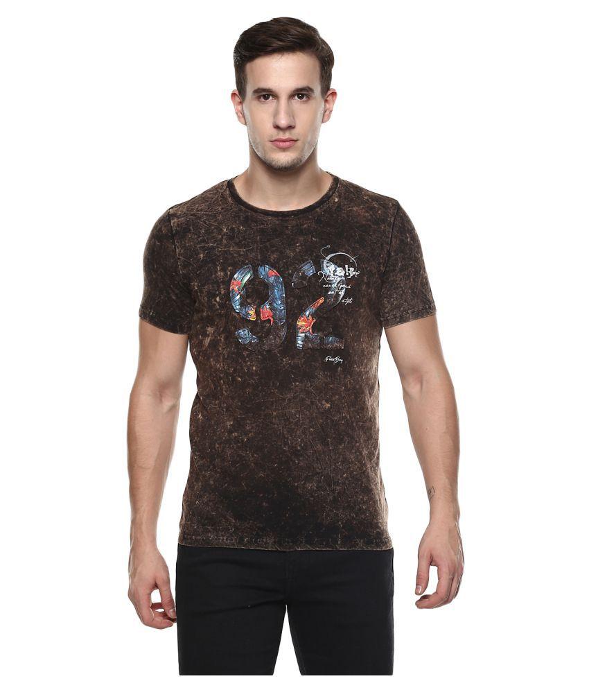 Fritzberg Black Round T-Shirt Pack of 1