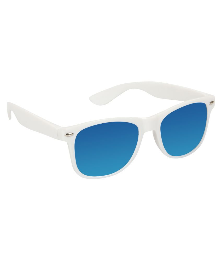 Louis Geneve Blue Wayfarer Sunglasses ( LG-SM-119-S-DBLUE )