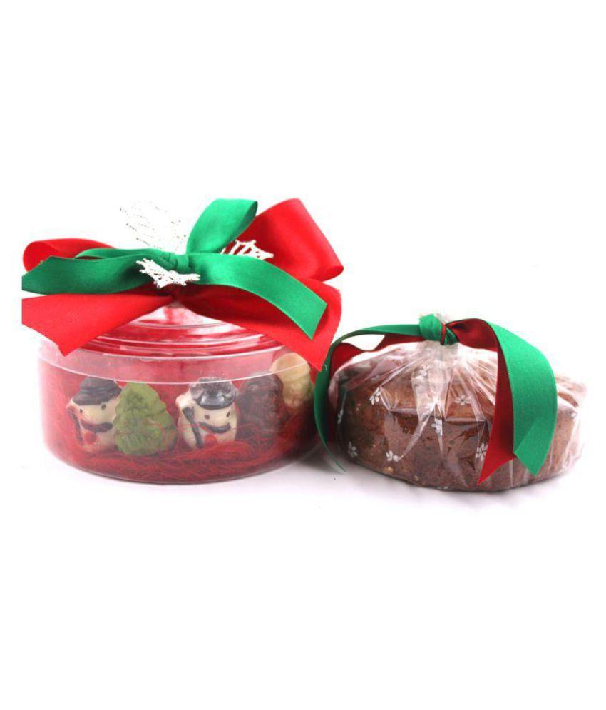 Zoroy Luxury Chocolate Minto plum cake box Assorted Box Christmas and new year gift 300 gm