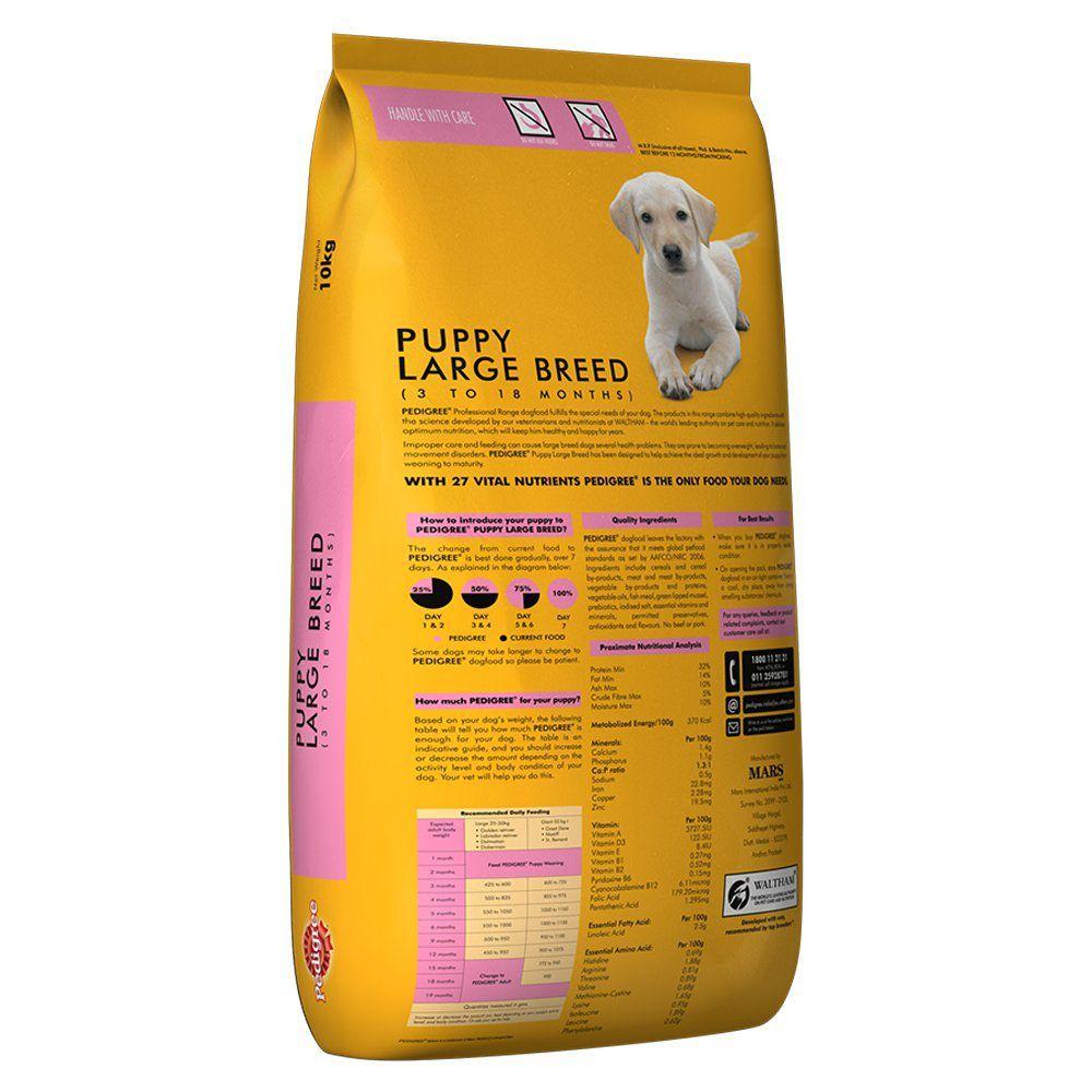 Pedigree Large Breed Dry Dog Food