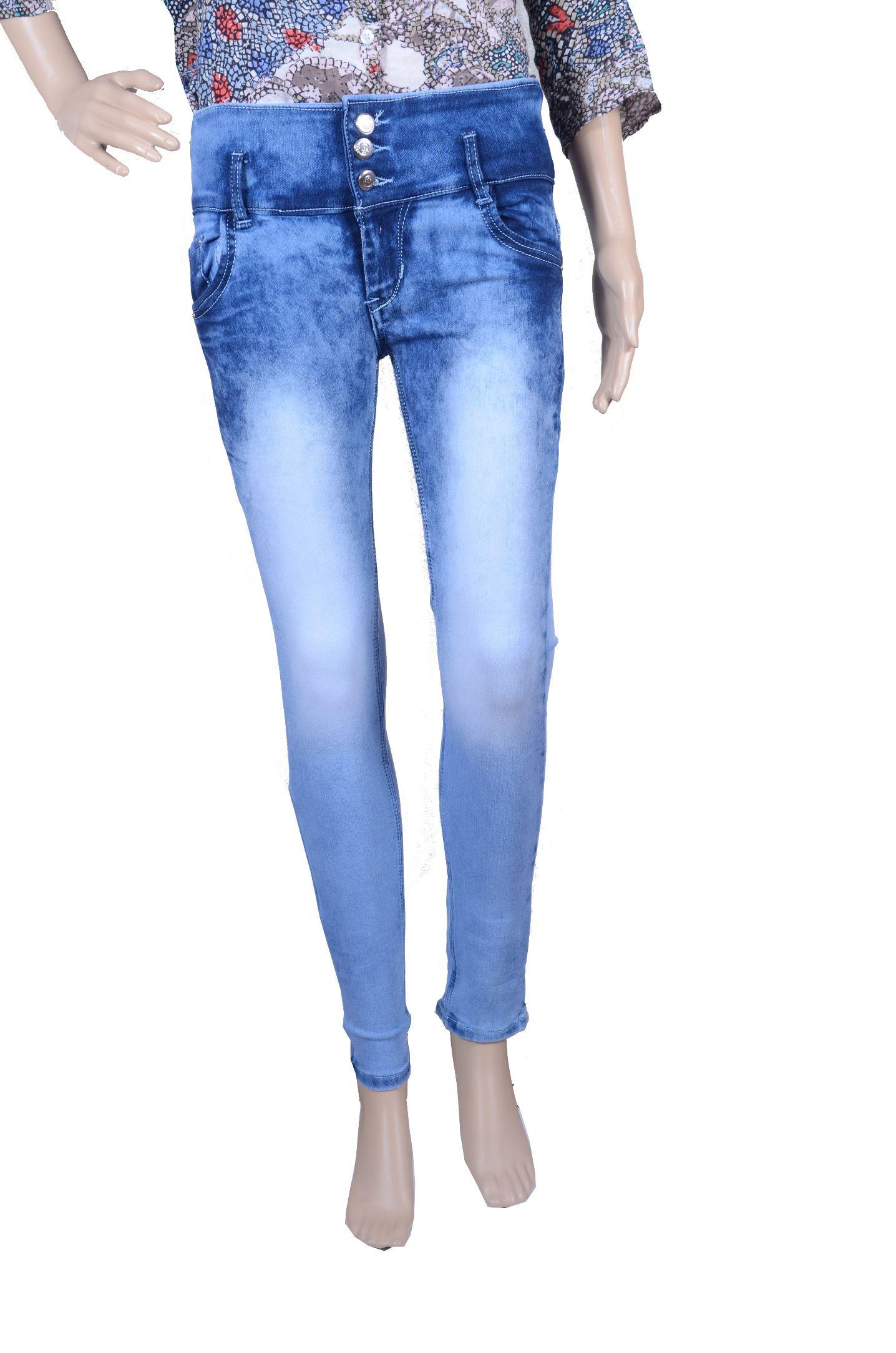 Khusbhu Denim Jeans - Blue