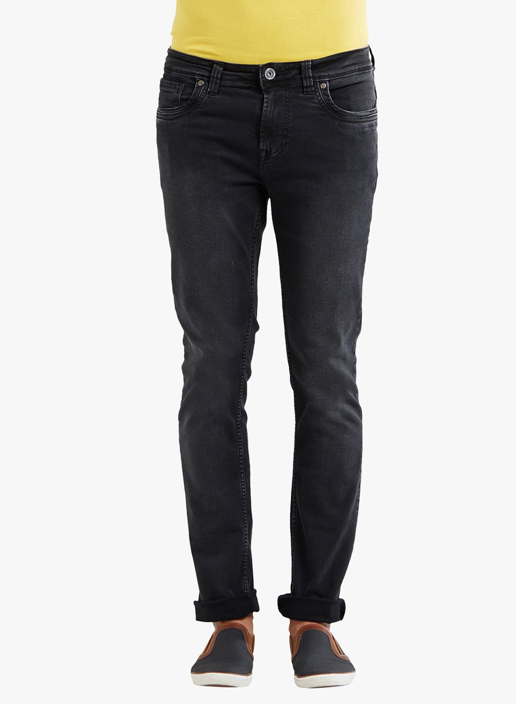 INTEGRITI Black Slim Jeans