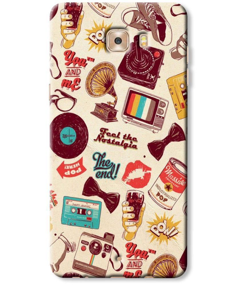Samsung Galaxy C9 Pro Printed Cover By Case King