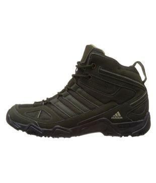 Adidas Xaphan Green Hiking Shoes - Buy