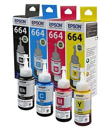 Epson Epson T664 Multicolor Ink Single