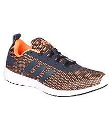 Adidas Orange Running Shoes