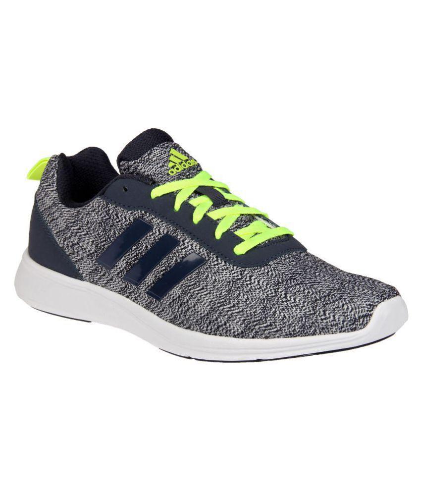 adidas adiray m gray scarpe da corsa