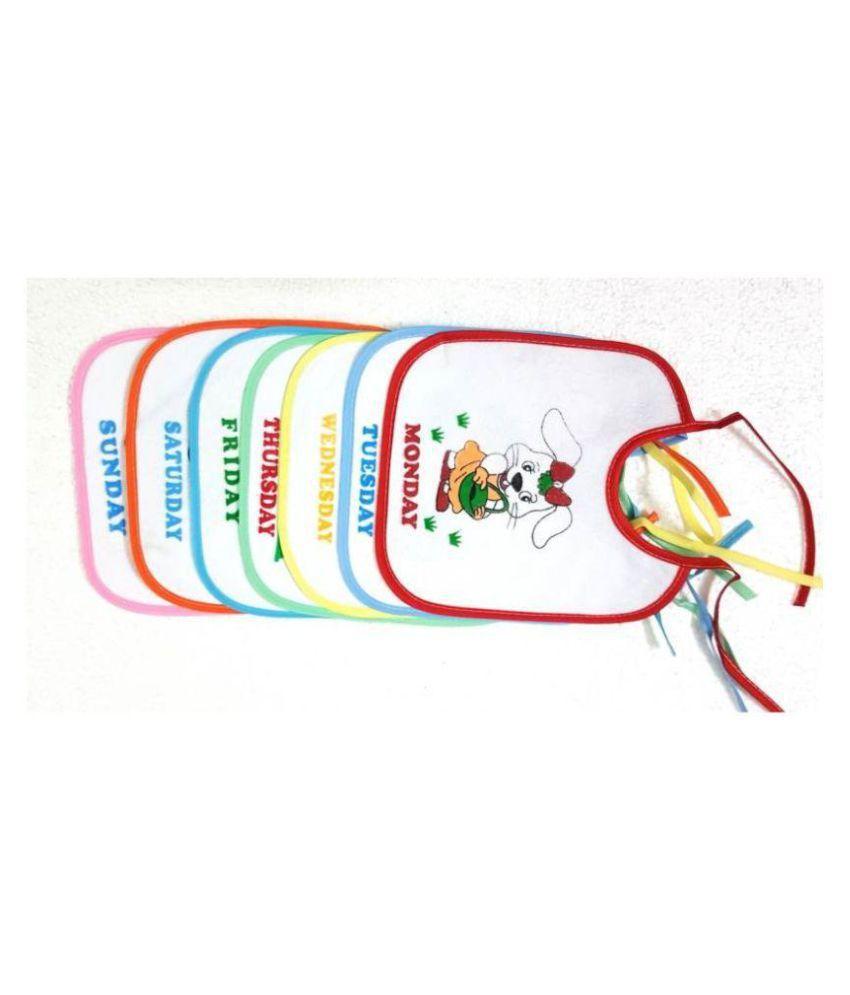 Pin to Pen Multi-Colour Cotton Baby Wrap cum blanket ( 20 cm × 18 cm - 6 or more pcs)