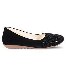 Vaniya shoes Black Ballerinas