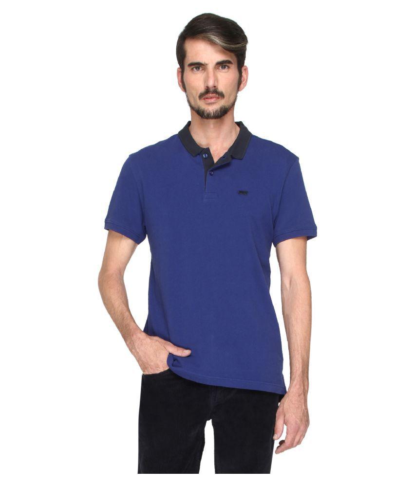 Levi's Blue Round T-Shirt