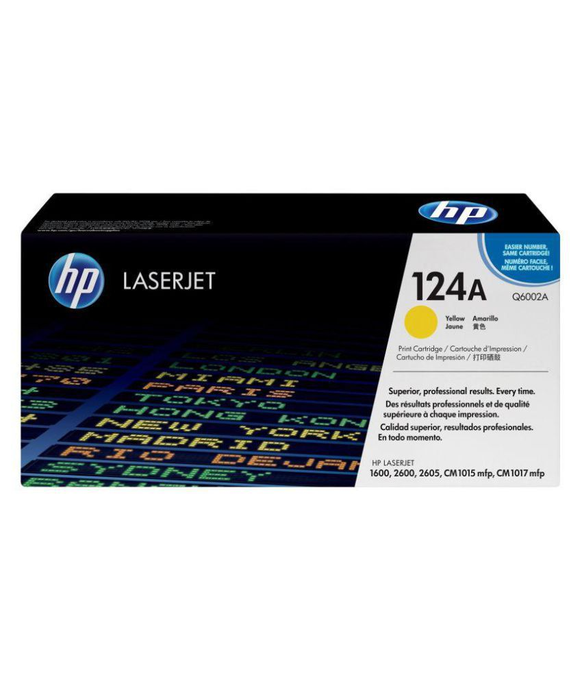 Indian Technology HP 124A Yellow Toner Single