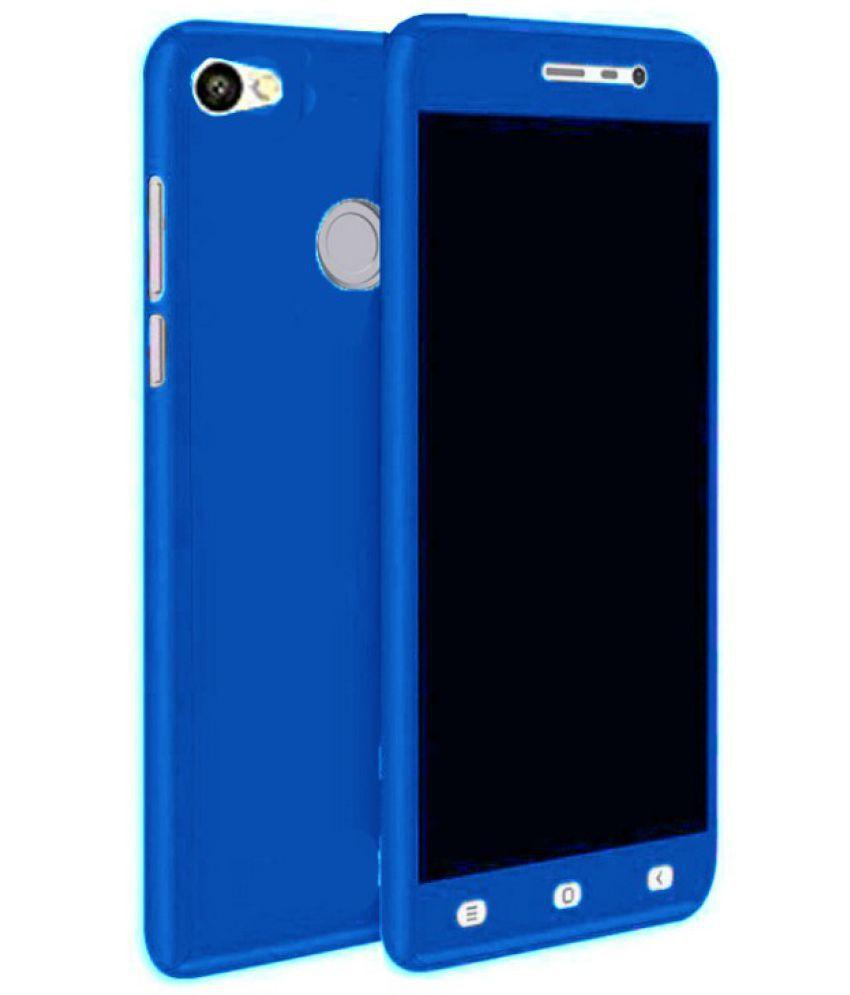 pretty nice eee52 2260c Xiaomi Redmi Y1 Plain Cases YoFashions - Blue