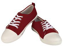 Century Maroon Casual Shoes