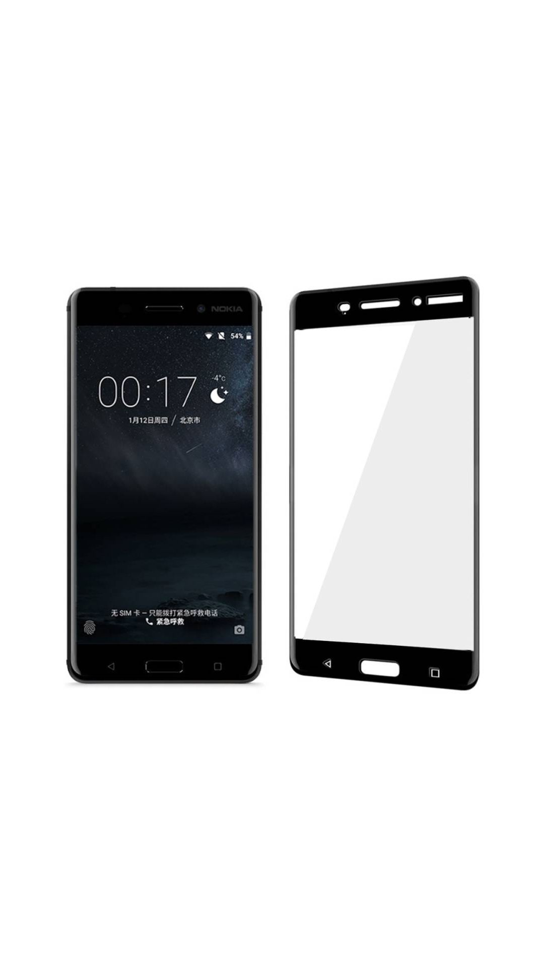 Nokia 6 Tempered Glass Screen Guard By Furious3D