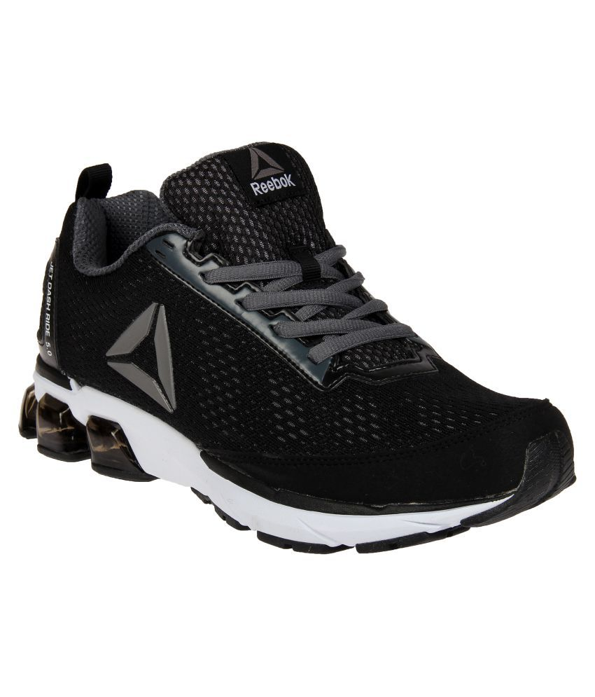 Reebok JET DASHRIDE 5.0 Black Running Shoes - Buy Reebok JET DASHRIDE 5.0  Black Running Shoes Online at Best Prices in India on Snapdeal ac16af23f