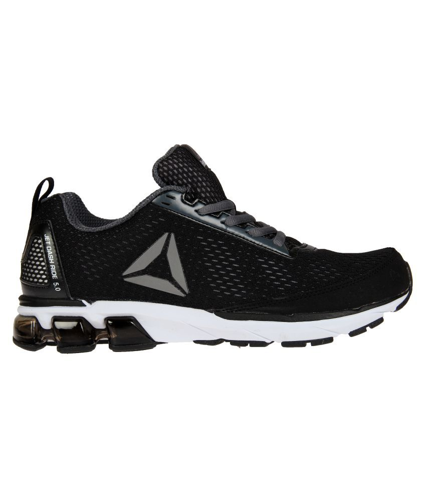 702cb4001643 Reebok JET DASHRIDE 5.0 Black Running Shoes - Buy Reebok JET ...