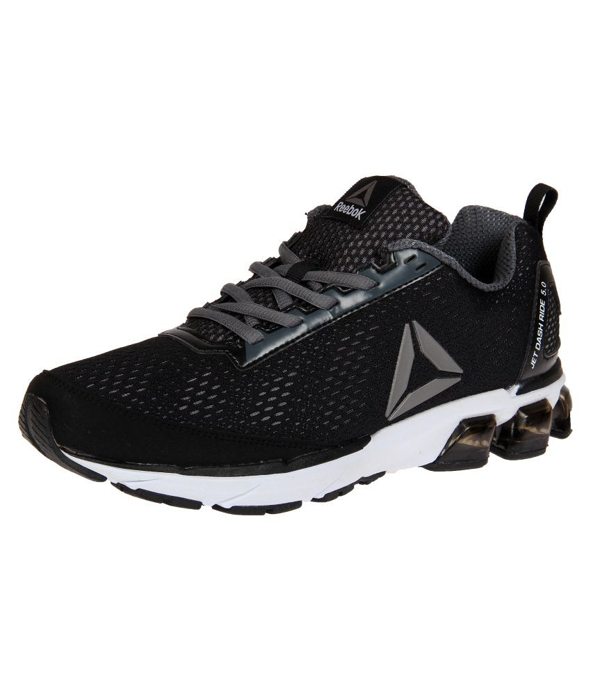 Reebok JET DASHRIDE 5.0 Black Running Shoes - Buy Reebok JET ... ddd1af28a