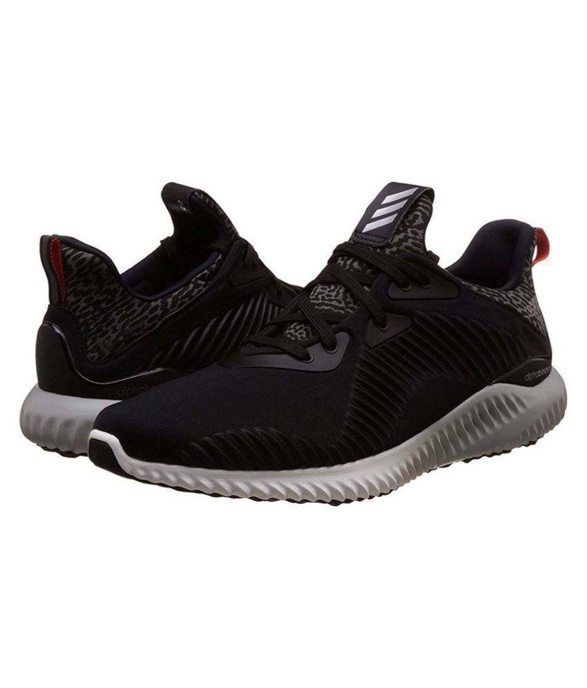 ADIDAS PERFORMANCE Alphabounce Men s Black Running Shoes ADIDAS PERFORMANCE  Alphabounce Men s Black Running Shoes ... ef98b00ab