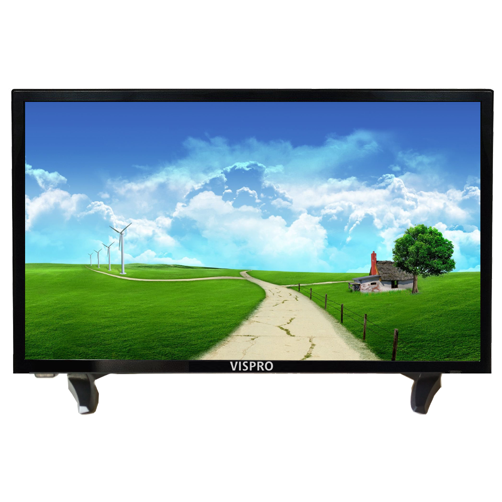 VISPRO 24 inch LED TV 61 cm ( 24 ) HD Ready (HDR) LED Television