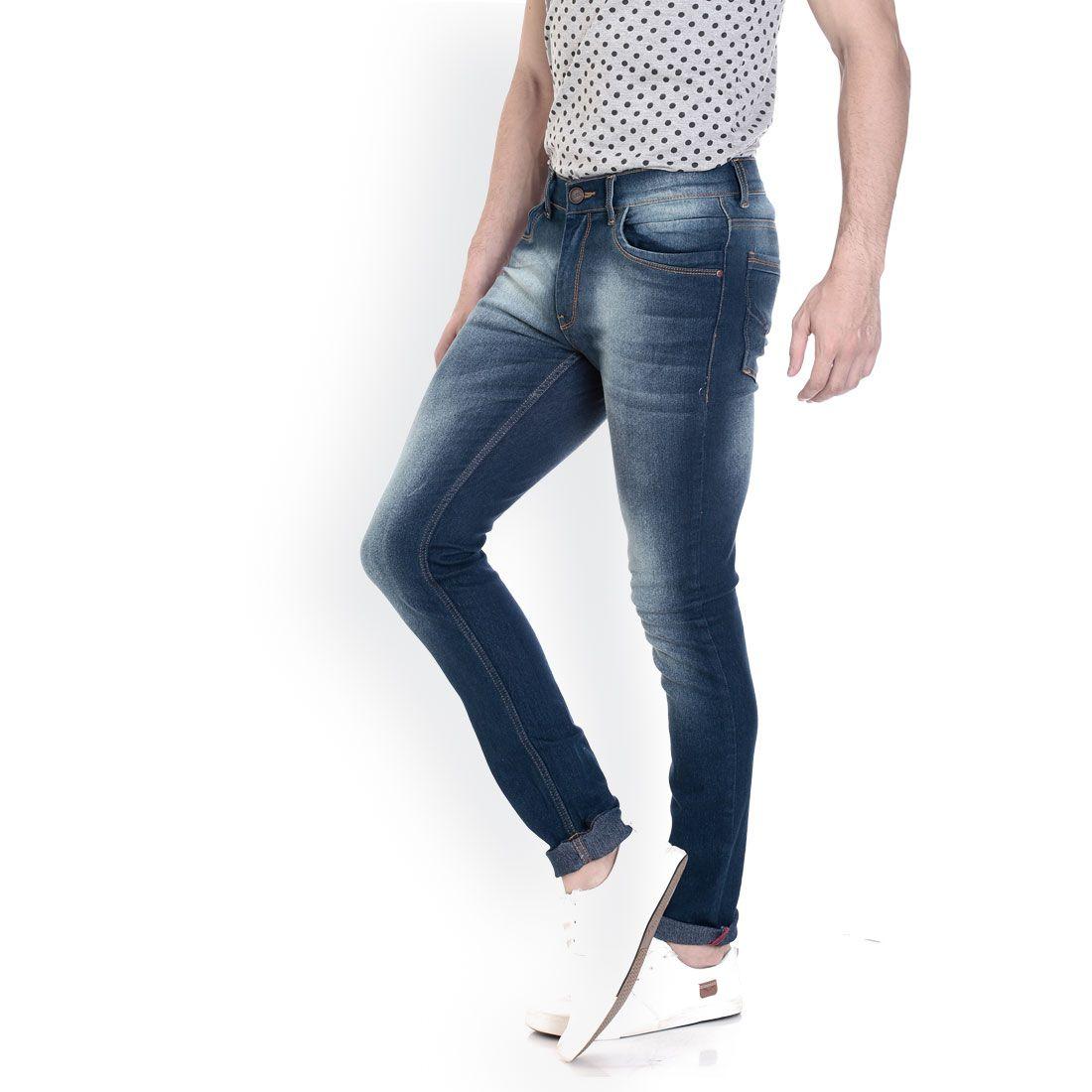 VUDU Navy Blue Slim Jeans