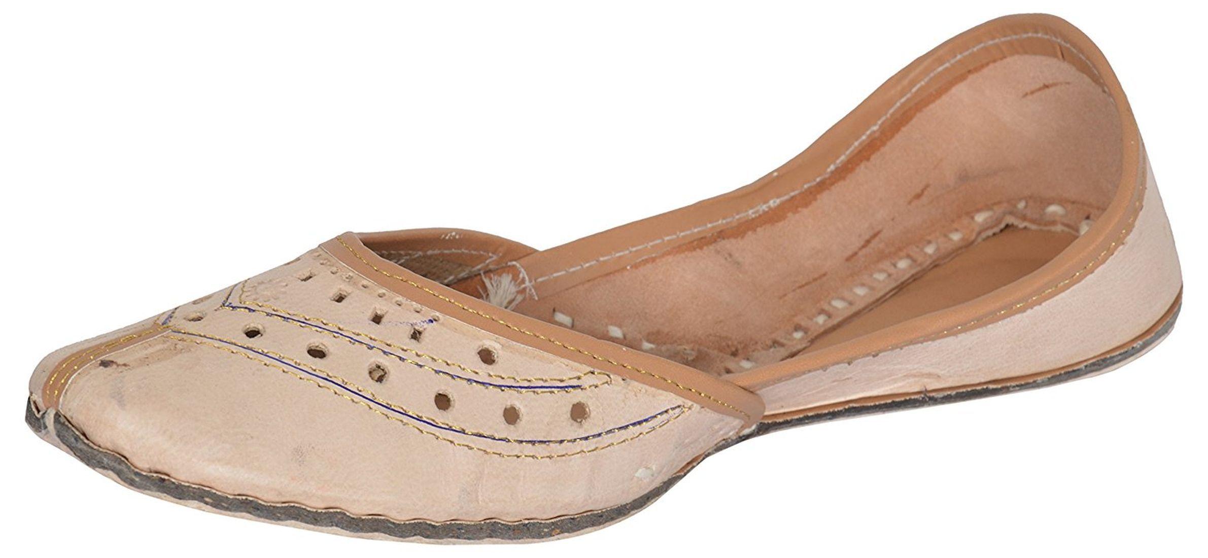 stylewear Tan Ethnic Footwear