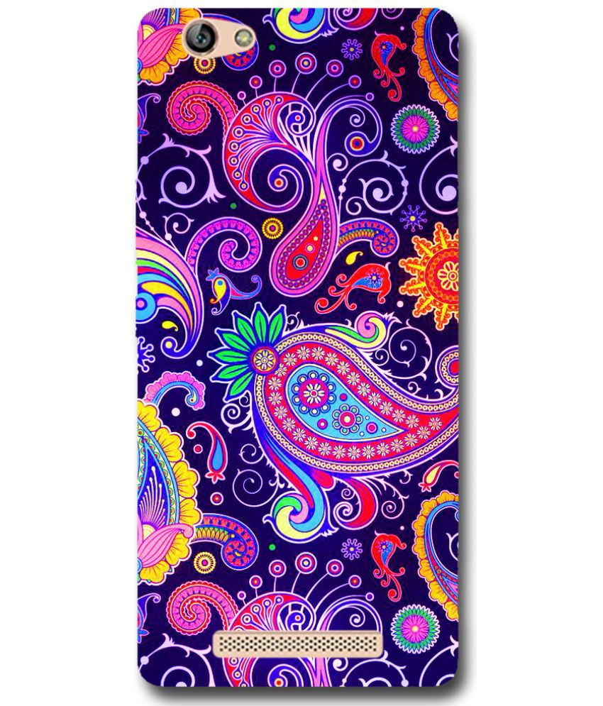 Gionee M5 Printed Cover By Case King