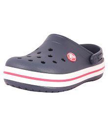 Crocs Clogs Navy Blue Croslite Kids