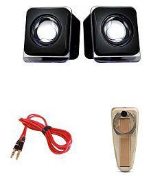 MINIFOX Grip Mobile Stand, Aux, 2.0 Aux Portable Speaker