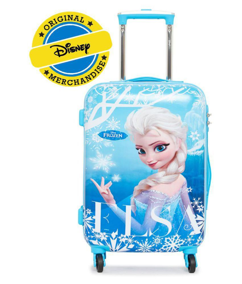 05ad1d91f Gamme Blue Disney Frozen Kid Luggage Trolley Bag - Buy Gamme Blue Disney  Frozen Kid Luggage Trolley Bag Online at Low Price - Snapdeal